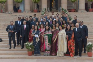 Rashtrapati Bhavan Group Photo 1
