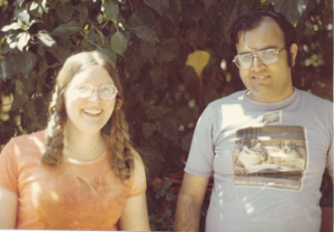 Ann and Kanwal in 1973
