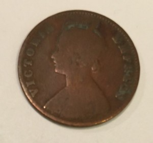 Queen Victoria Paisa 1