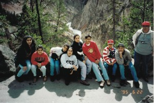 Gang at Yellowstone